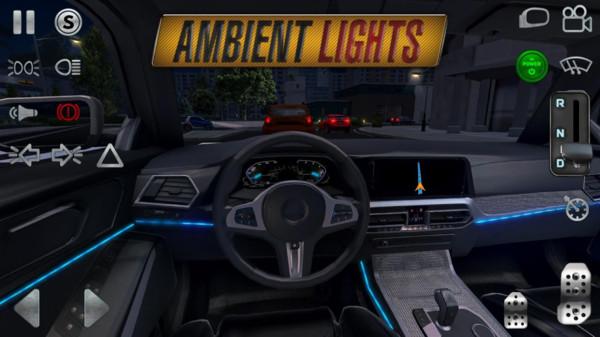 真实驾驶模拟游戏截图