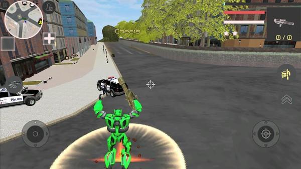 机器人英雄犯罪射击截图