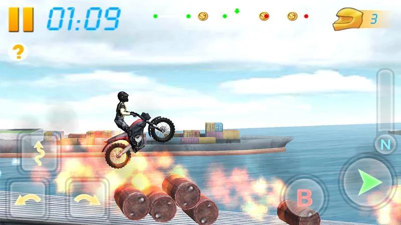 摩托竞技3d中文版截图