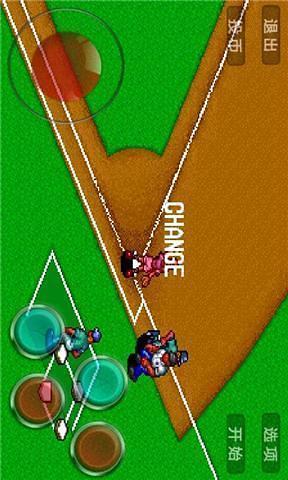 棒球练习赛截图