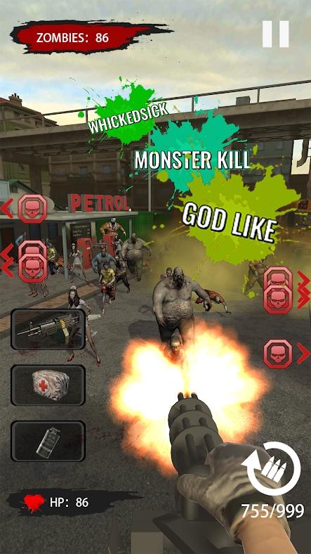 射击僵尸生存游戏截图