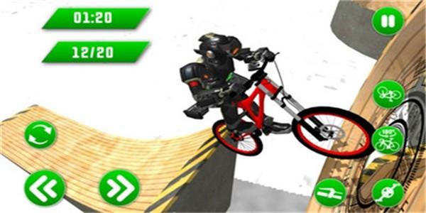 超级英雄BMX截图