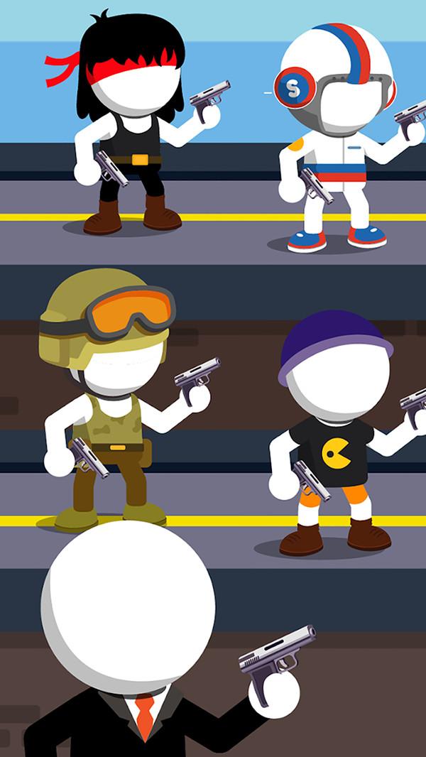 火柴人杀手任务游戏截图