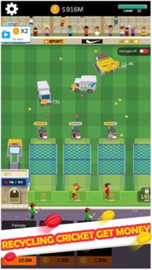 板球大赛截图
