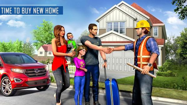 虚拟住宅建设游戏截图