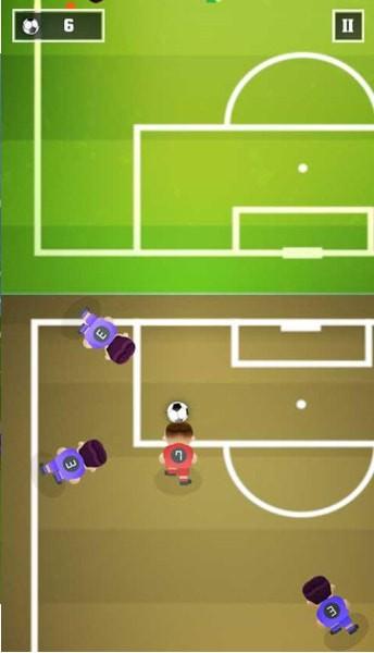 休闲足球增强版截图