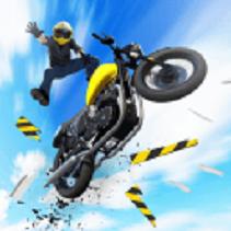 摩托车特技飞跃游戏