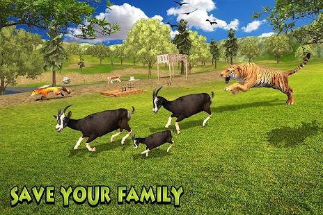 山羊家庭模拟器游戏截图