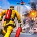 消防员救援英雄