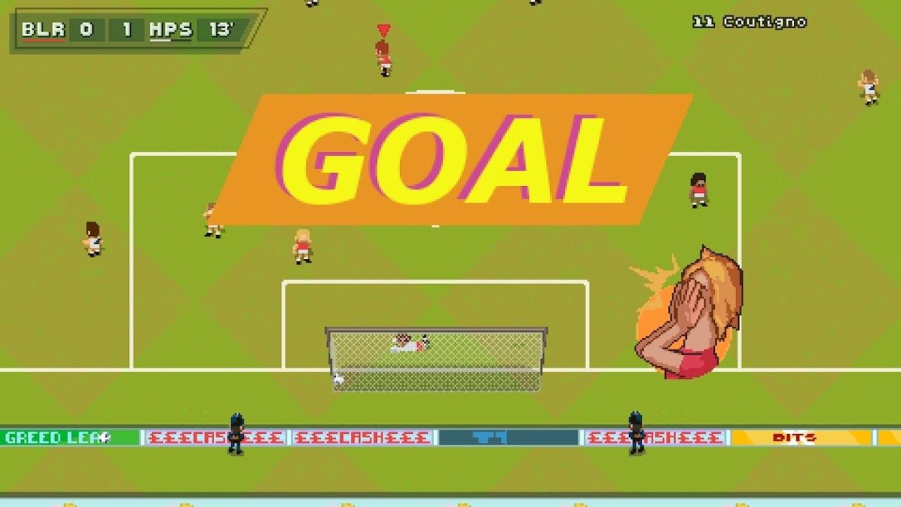 超级街机足球截图