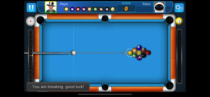 斯诺克台球游戏单人版截图