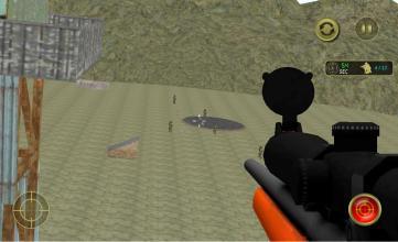 狙擊公牛訓練截圖