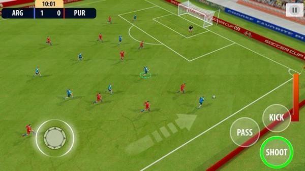 足球梦想联盟截图