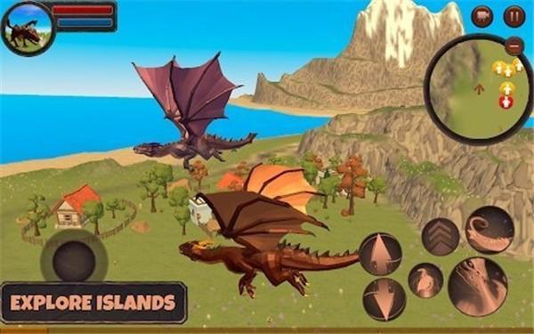 龙战斗模拟器3D截图