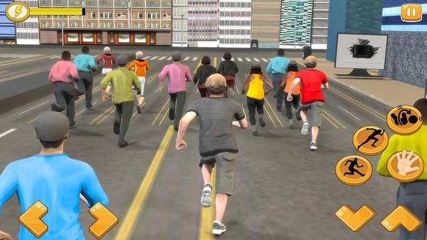 马拉松比赛模拟器截图