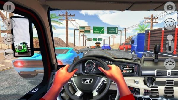 在卡车驾驶中截图