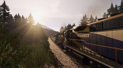 专业火车模拟器截图