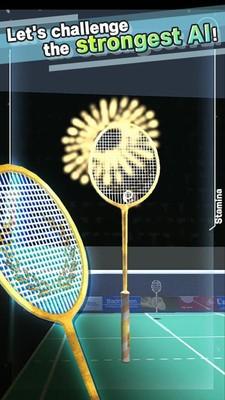 真人羽毛球3D截图