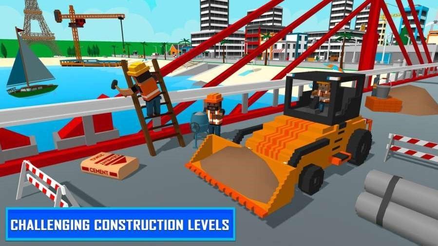 迪拜海滩建设截图