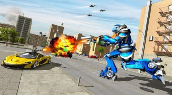 卡丁车变形机器人截图