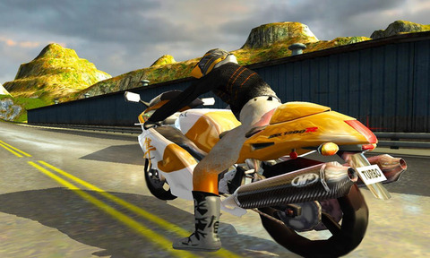 摩托车技巧大赛截图