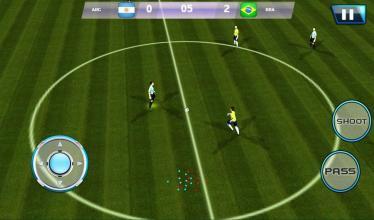 足球联赛截图