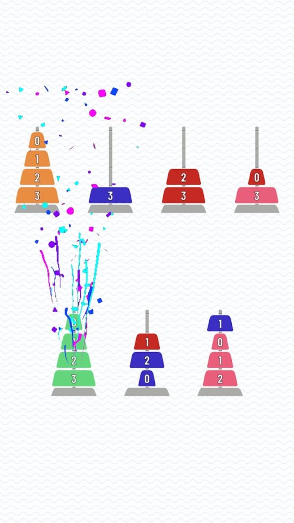 金字塔排序难题截图
