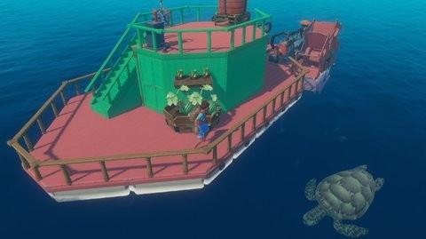 raft木筏生存截图