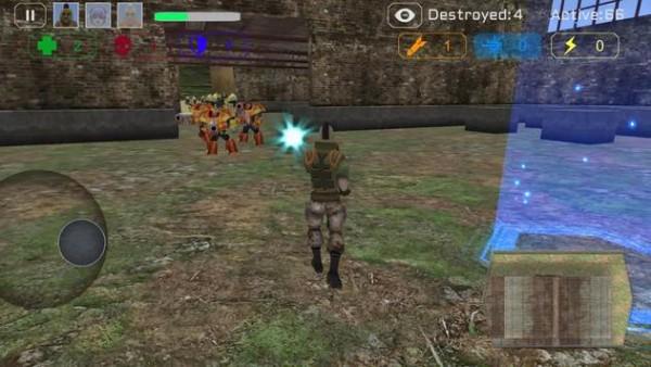 幽灵小队战斗机器人截图