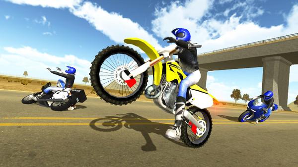 公路摩托3D破解版截图