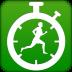绿色健身计时器
