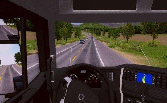 欧洲3D驾驶卡车模拟截图