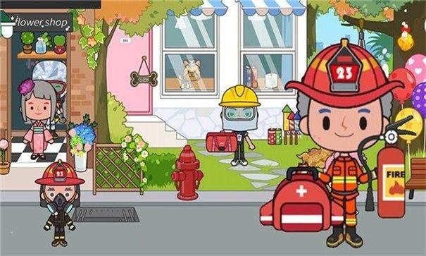 托卡王国消防员官方版截图