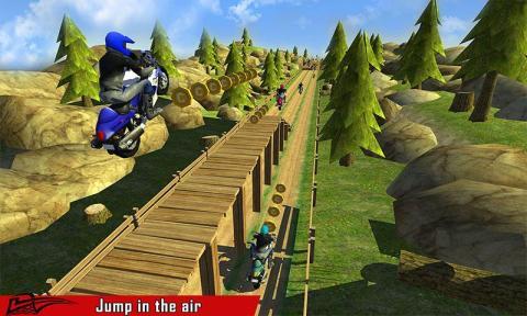 高速交通赛车3D游戏截图