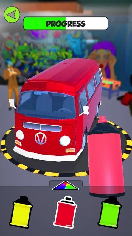 涂鸦我的车3D游戏截图