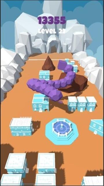 岩石怪物城市破坏截图