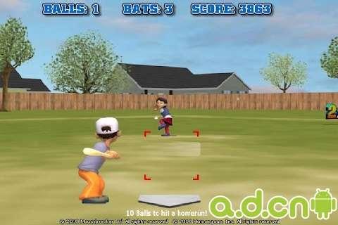 真实棒球3D截图