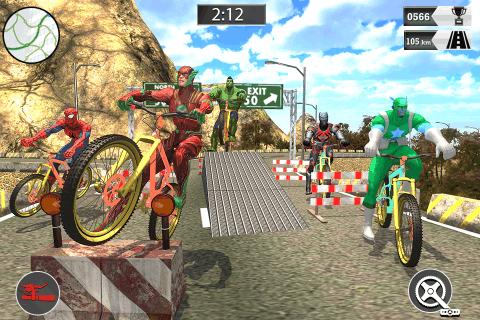 朵拉自行车比赛截图