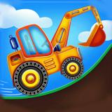有趣的挖掘机