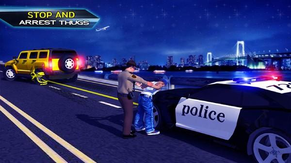 警察公路追逐截图