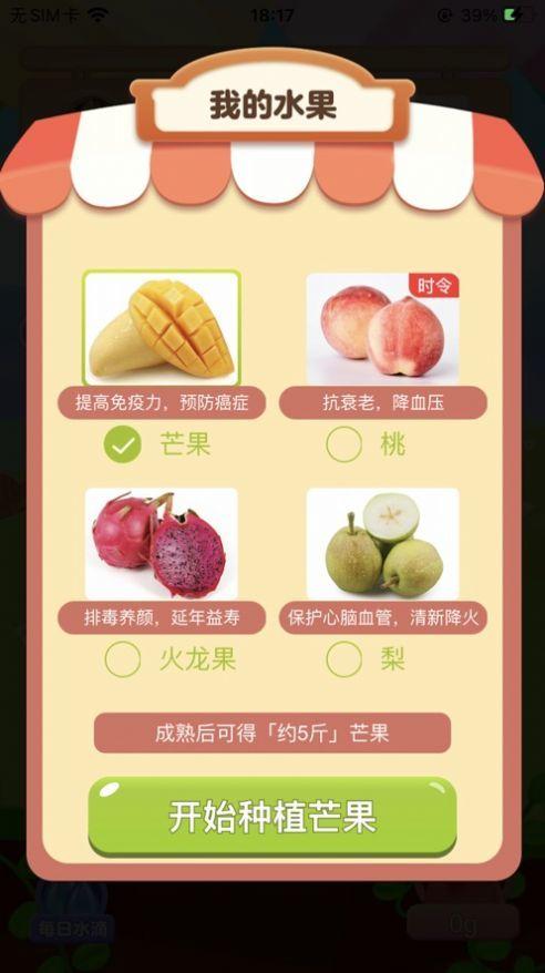 温暖果园红包版截图