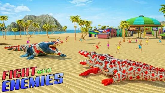 愤怒鳄鱼模拟器鳄鱼攻击游戏截图