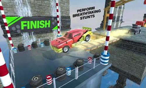 方程式特技赛车游戏截图