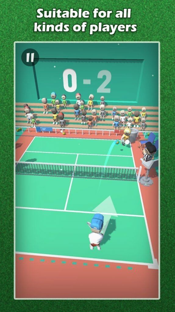 轻弹网球截图