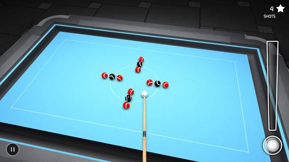 3D台球桌停车截图