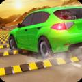减速带汽车碰撞测试游戏