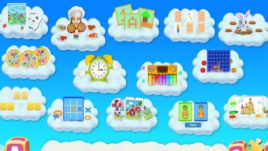 学龄前儿童教育App截图