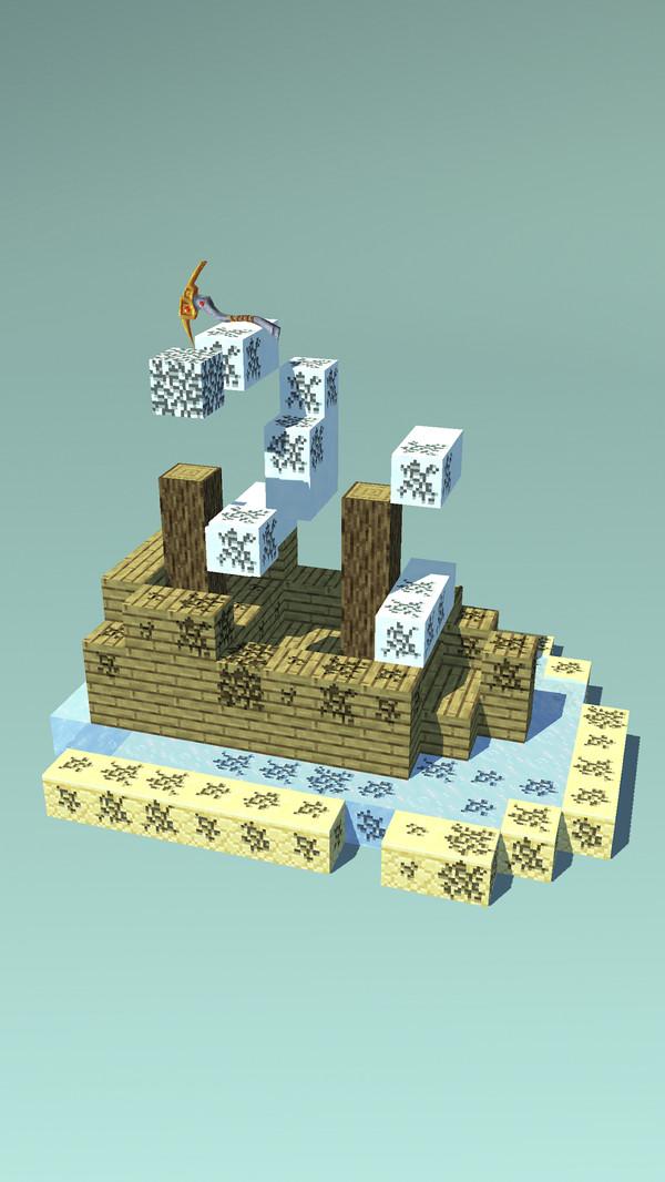 像素挖矿世界游戏截图