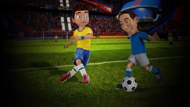 小人桌上足球截图