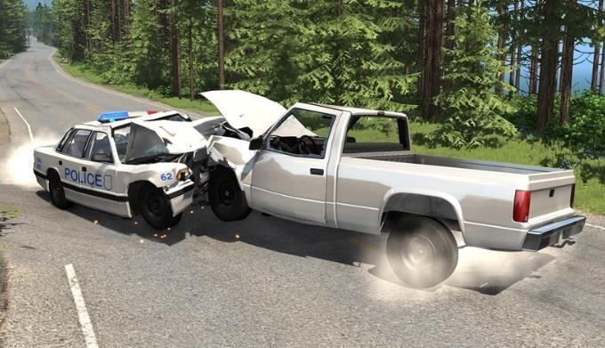 拟真车祸模拟截图